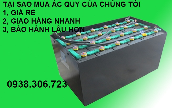Bình Điện xe nâng 48V tại Đồng Nai